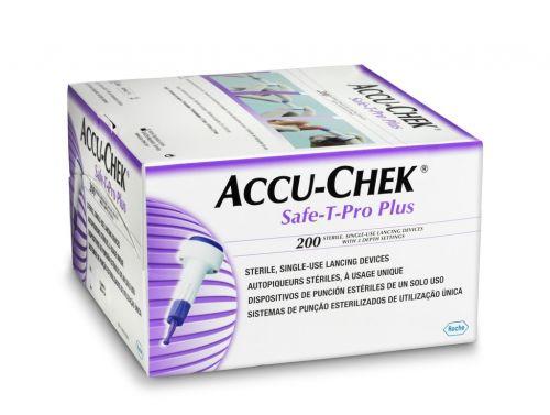 ACCU-CHEK SAFE-T-PRO PLUS / BOX OF 200