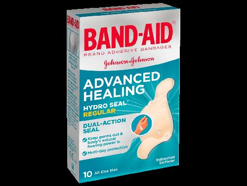JOHNSON & JOHNSON BAND-AID ADVANCED HEALING / REGULAR 25 X 66MM
