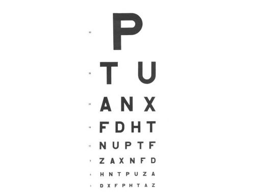 FISHER & WEBSTER EYE CHARTS