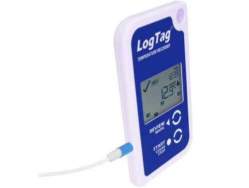 LOGTAG TEMPERATURE LOGGER WITH EXTERNAL PROBE AND TEMPERATURE DISPLAY