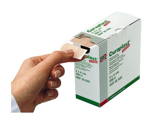 CURAPLAST® SENSITIVE DRESSINGS INJECTION DRESSING 20 X 40MM DIA / ROLL/250