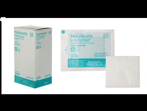 MULTIGATE INTERPOSE® NON-ADHERENT DRESSING / 7.5 X 10CM / BOX OF 100
