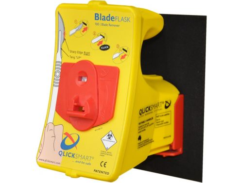 QLICKSMART BLADE REMOVAL SYSTEM WITH WALL OR BENCHTOP MOUNTING BRACKET