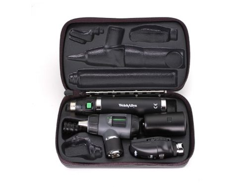 WELCH ALLYN 3.5V DIAGNOSTIC SET LITHIUM ION, MACROVIEW & OPTHALMOSCOPE