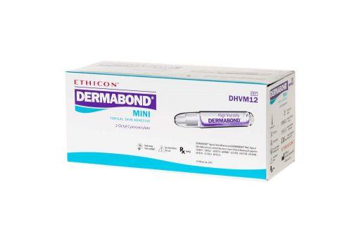 ETHICON DERMABOND HIGH VISCOSITY MINI / BOX/12 VIALS